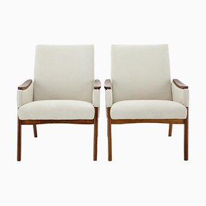 Armchairs, Czechoslovakia, 1970s, Set of 2