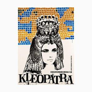 Cleopatra Film Poster by Somorjai Imre, 1966