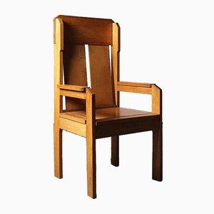 Modernist High Back Chair