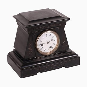Clock Stand in Black Marble