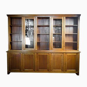 Large Vintage Bookcase from Notarishuis, Brussels