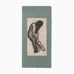 Daniel Gainsbourg, Figur, Zeichnung auf Papier, 1921