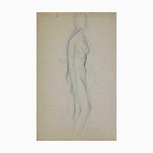 André Meauxsaint-Marc, Akt, Zeichnung, frühes 20. Jahrhundert