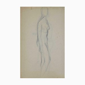André Meauxsaint-Marc, Nude, Drawing, Early 20th Century