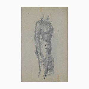 André Meauxsaint-Marc, Akt, Federzeichnung, Frühes 20. Jahrhundert