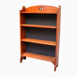 Solid Oak Open Bookcase