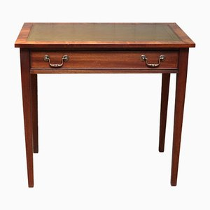 Mahogany Single Drawer Desk
