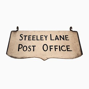 Steeley Lane Post Office Sign