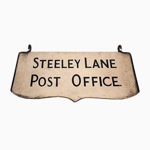 Steeley Lane Postamt Schild