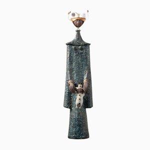 Skulptur von Raphael Giarruso für Accolay 1965