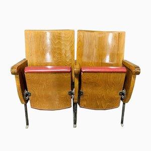 Italian Film Chairs, 1960s, Set of 2