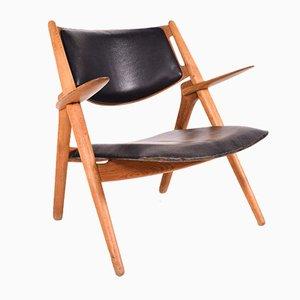 Model CH28 Chair by Hans J. Wegner for Carl Hansen & Søn, 1950s