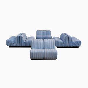 Canapé Modulable, 1970s, Set de 8