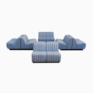 Modular Sofa, 1970s, Set of 8