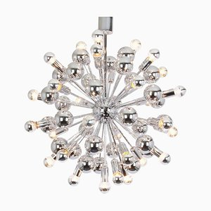 Large Chrome Chandelier from Cosack, 1970s