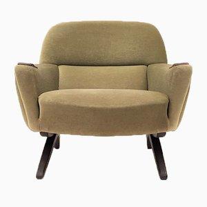 Rosewood Model 62 Geisha Lounge Chair by Leif Hansen for Kronen Møbelfabrik, 1960s