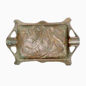 Bronze Ashtray, Early 1900s