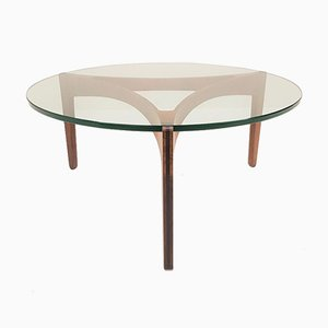Rosewood Coffee Table by Sven Ellekaer for Christian Linneberg, 1960s