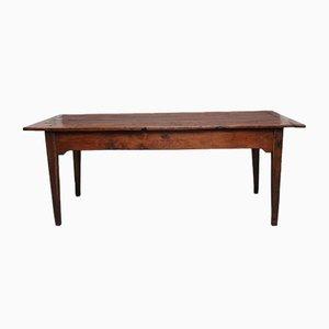 Tavolo rustico in quercia, inizio XIX secolo
