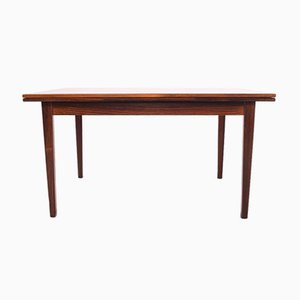 Danish Extendable Dining Table in Rosewood, 1950s