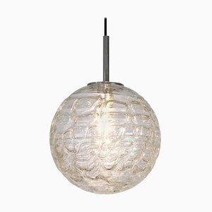 Hängelampe aus Muranoglas von Doria Leuchten, 1970er