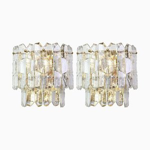 Large Palazzo Sconces from Kalmar, 1960s, Set of 2