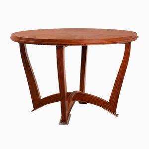Mesa de comedor de palisandro, años 50