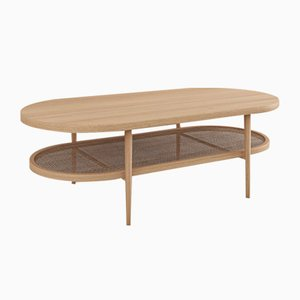 Aaram Coffee Table in Natural Ash by Kam Ce Kam
