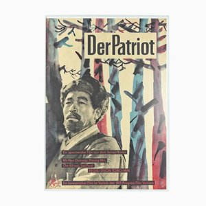 Affiche de Film Vintage, Der Patriot, Corée, 1960s