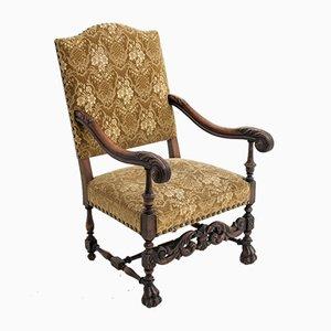 Antique Neo-Renaissance Armchair, Circa 1910