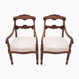 Antique Armchairs, Circa 1900, Set of 2