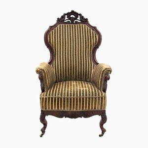 Scandinavian Nyrokok Style Armchair, Circa 1880