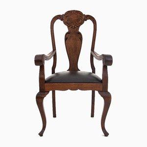 Renovated Antique German Armchair, Circa 1910