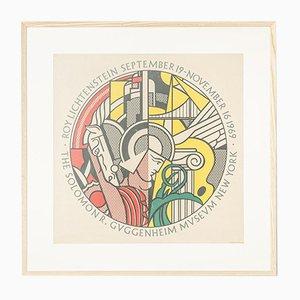 Vintage Poster for Roy Lichtenstein Exhibition, 1969