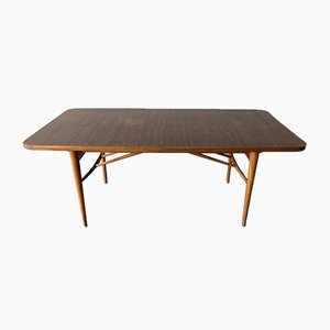 Large Mid-Century Extendable Rosewood Dining Table by Robert Heritage for Archie Shine