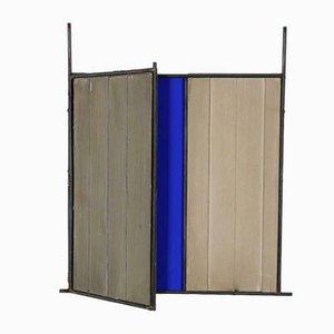 Joseph Haken, Skulptur, Eisen und Zement Pigment auf Holz, 2002