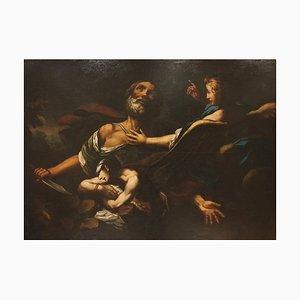 Giovanni Battista Piazzetta, Opfer von Isaak, Öl auf Leinwand, 1700