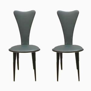 Dining Chairs by Umberto Mascagni for Mascagni, 1960s, Set of 2