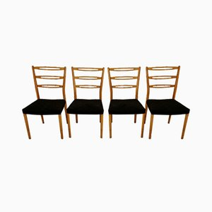 Swedish Dining Chairs, 1970s, Set of 4