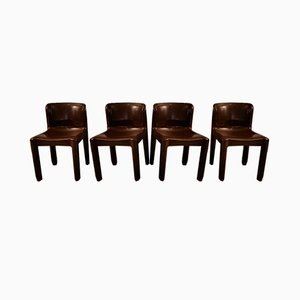 Esszimmerstühle von Carlo Bartoli für Kartell, 1984, 4er Set