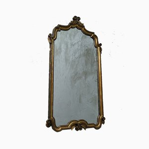 Antique Italian Giltwood Mirror, 1850s