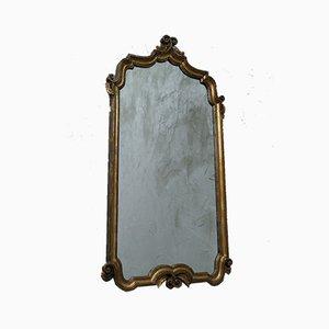 Specchio antico in legno dorato, Italia, metà XIX secolo