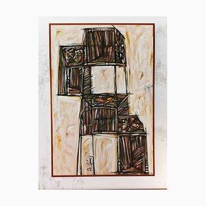 Abstract, Acryl auf Leinwand, A. Gómez
