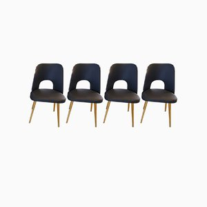 Dining Chairs from Oswald Haerdtl for Ton, 1960s, Set of 4