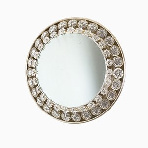 Mid-Century Backlit Mirror with Crystals from Palwa, 1960s