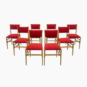 Mid-Century Leggera Chairs by Gio Ponti, Set of 8