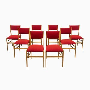 Mid-Century Leggera Stühle von Gio Ponti, 8er Set