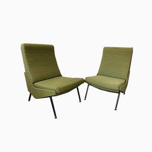 Armlose Troika Stühle von Pierre Guariche für Airborne, 1960er, 2er Set