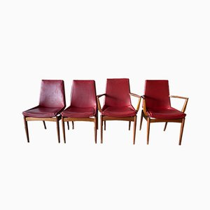 Mid-Century Dining Chairs by Robert Heritage for Archie Shine, Set of 4