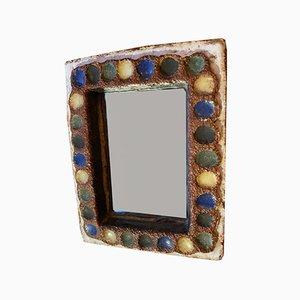 Specchio in ceramica Argonauts, anni '60